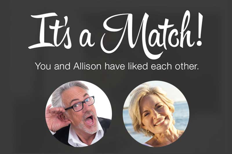 Tinder pour les seniors, its not a match