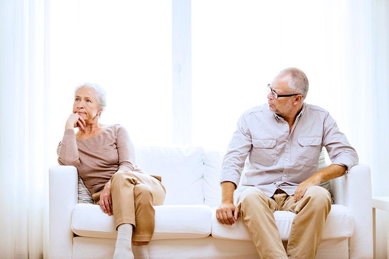 Le divorce des plus de 50 ans augmente en début d'année